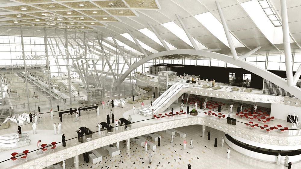 Sự sang trọng & hào nhoáng ở sân bay Jeddah